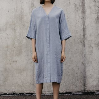 Linen Dress Motumo – 18S5