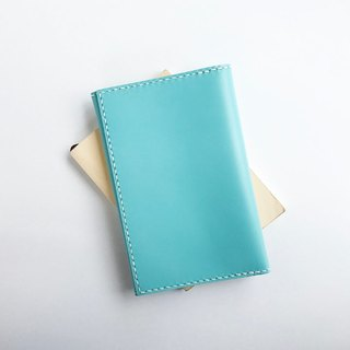 Simple paperback cover sky blue of Toys Leather