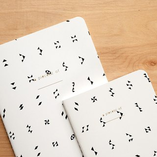 Notebook set : Tribeangle (set of 2)