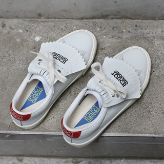 TOUCH GROUND 韩国复古手工波鞋 VINTAGE TENNIS OG SNEAKERS RED TGV5S215R20