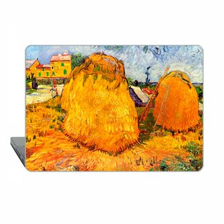 Van Gogh Macbook case Pro 13 touch bar MacBook Air 13 Case Impressionist  Macbook 11 haystacks Macbook 12 Macbook 15 Retina classic art Hard 1741