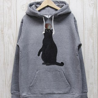 Black cat parker apple (Heather Gray) / RPP012-GR