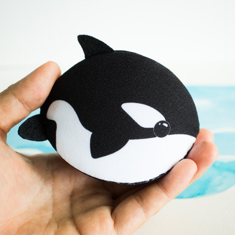 Orca Accessories bag  / Coin purse calm shell design