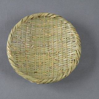 Bamboo bamboo with heavy knitting basket