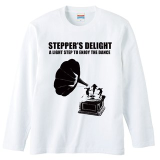 [Long sleeve T-shirt] STEPPER S DELIGHT