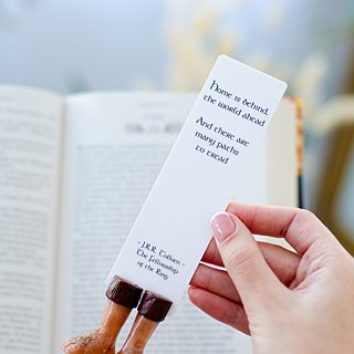 Halfling feet bookmark for The Lord of the Rings fans