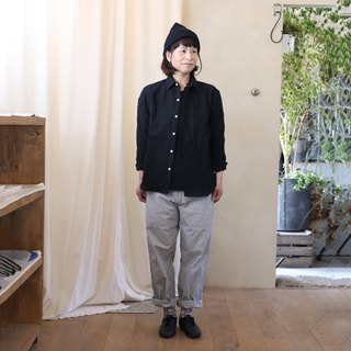Washable wool shirt BK · unisex