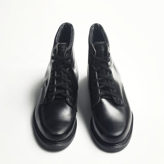 70s 美制黑色工作踝靴|Knapp 6-eye Work Boots US 8D EUR 40 -Deadstock