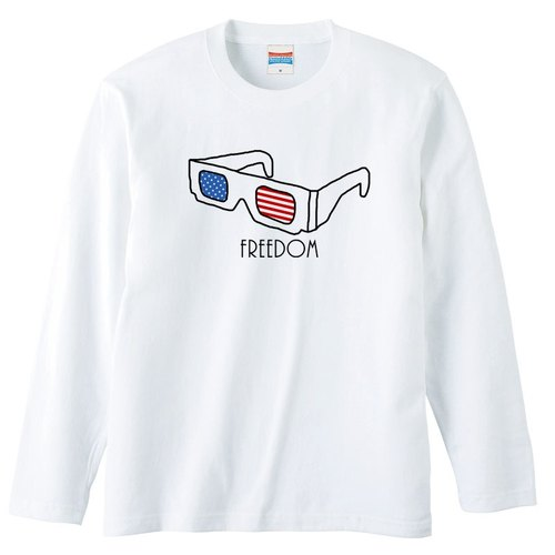 [Long sleeve T-shirt] freedom