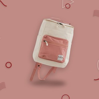BUCKET BEAM BAG : MILKY PINK COLOR