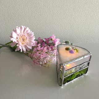 Sweet night LED Candle Holder Sakura & Green Tea Bay View