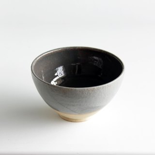 Handmade Ceramic Rice Bowl - Suit Grey