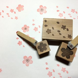 Cherry stamp 5 points set