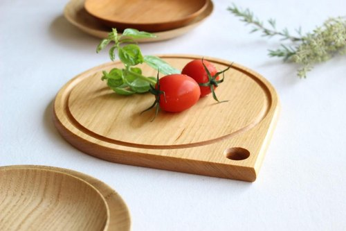 Round and small cutting board of Yamazakura PY 180