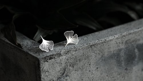 银杏耳环XS Ginkgo Earrings