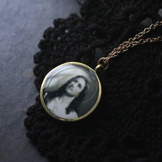 Jesus Charm Necklace by Defy - Pendant Jewelry Accessories