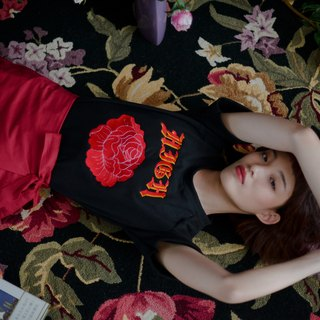 Rose high t-shirt
