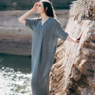 Linen Dress Motumo 16S2