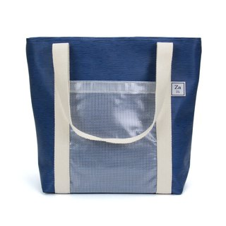 TOTE BAG / ZINC - MINI GRAPH / BLUE (ZN160601)
