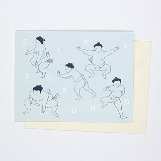 Sumo - Stay Strong Card