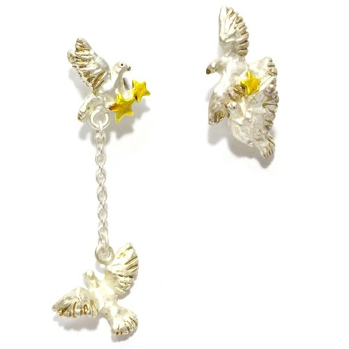 Petit Doves Altopetito / earrings PA 401