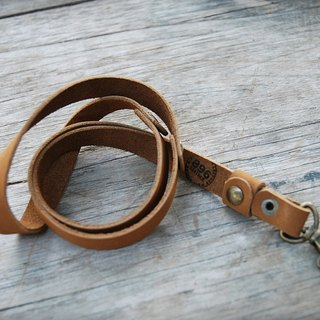 Handmade leather lanyard, Leather keychain, leather key strap, Leather Neck Strap , Neck Lanyard unisex style