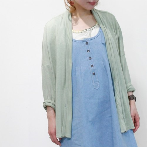 ☆ Palette ☆ 彡 Sankaku embroidery cardigan