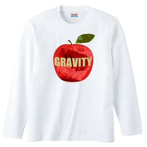 [Long Sleeve T Shirt] gravity