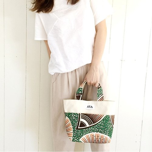TOTE (S): Pink-Green