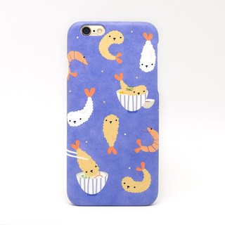 Prawn Tempura iPhone case