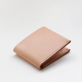 Leather Wallet – Nude