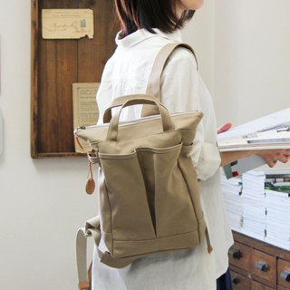 hike-mini: suble Kurashiki canvas backpack