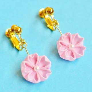 Hanagari Sakura earrings pink