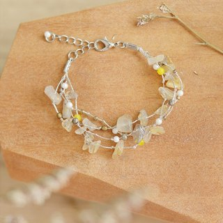 Rutile Quartz bracelet from Niyome craft