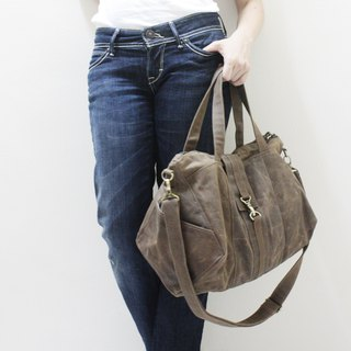 Canvas Tote / zipper bag / Shoulder Bag / Diapers bag / Hobo Bag / Weekender