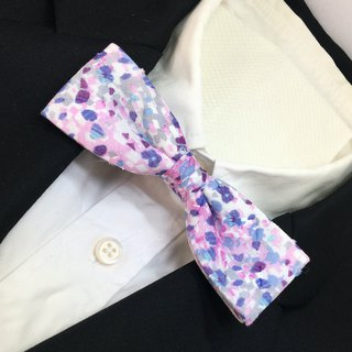 flower camouflage bow tie square type