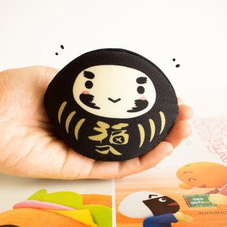 Black daruma coin purse. Success in Business ventures (good for entrepreneurs).