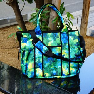 Star camouflage tote bag / wheel chair bag / 5 WAY