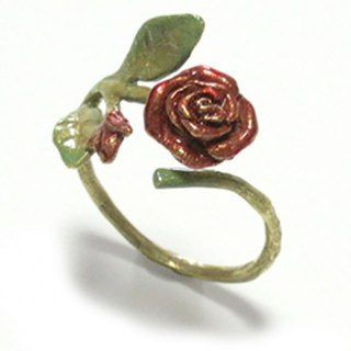 Rose Ring Wrapping Rolling / Ring RN 035