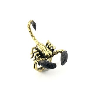 Zodiac Scorpio ring is for Scorpio in Brass and oxidized antique color ,Rocker jewelry ,Skull jewelry,Biker jewelry