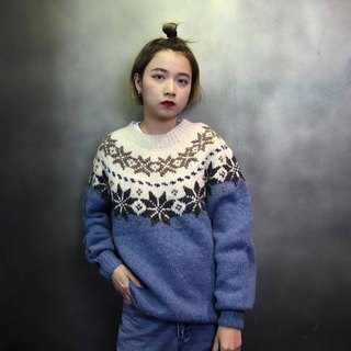 Tsubasa.Y 古着屋 013古着立体雕花毛衣,Carved Sweater针织复古