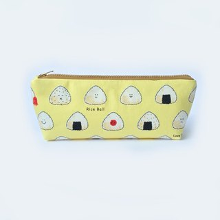 Cute Pencil Case, Pencil Pouch, Japanese Origiri, Sushi, Zipper Pouch Bag