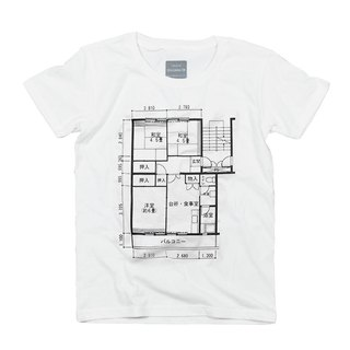 To Father's Day gift. Bespoke kids women's bespoke. To present. Japanese Floor Plan T-shirt Unisex XS ~ XL Size Tcollector