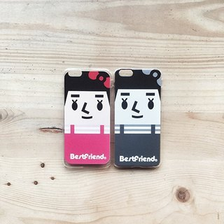 【BestFriend】Grayscale Miss Peng iPhone 6 / 6Plus Case 灰阶系列