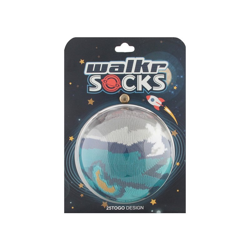 WALKR SOCKS_Moon Lake 月影湖泊