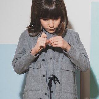 Overshirt Light Grey 8-9Y