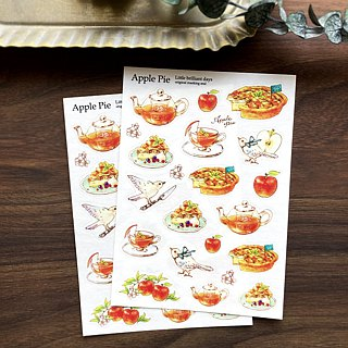 Masking sticker ApplePie