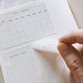 Life Planner Sticker Set