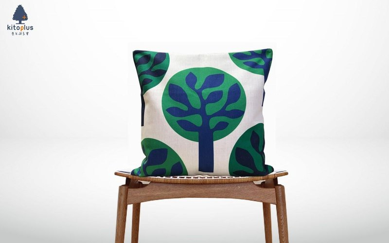 Forest cushion green trees