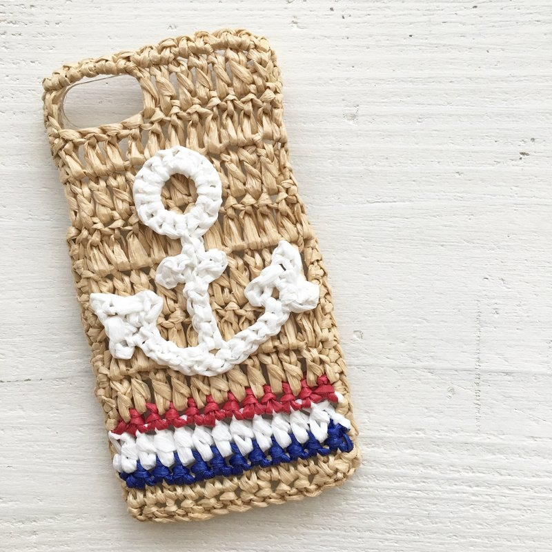 iPhonecase/anchor tricolor